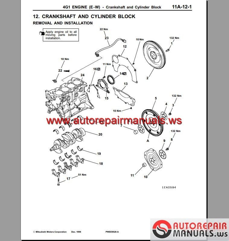 Mitsubishi 4g15 Engine Manual