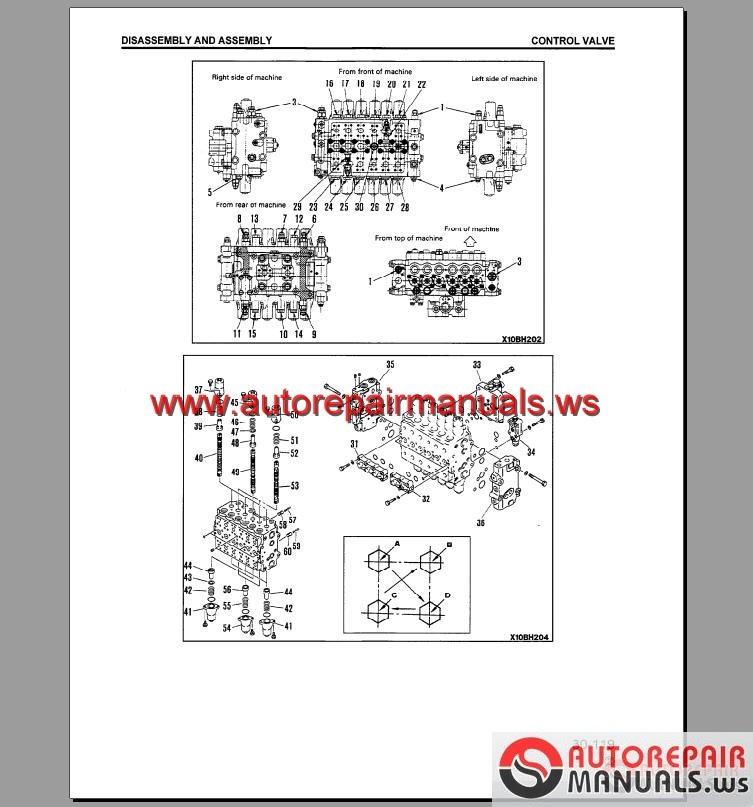 keygen autorepairmanuals ws  komatsu hydraulic excavator pc200