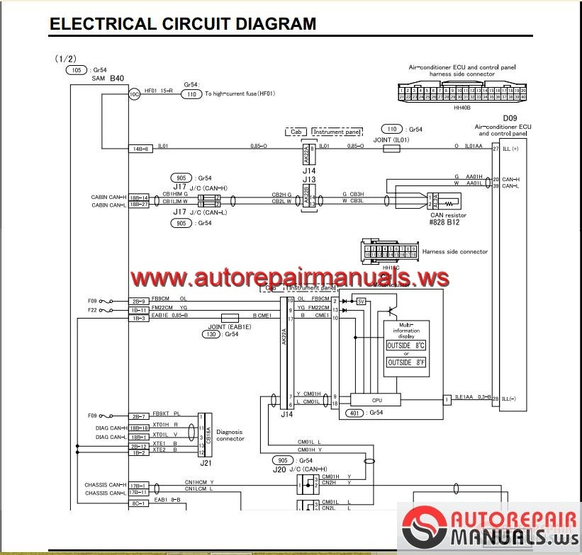 Mitsubishi_Canter_2012_Service_Manual4 mitsubishi canter 2012 service manual auto repair manual forum mitsubishi canter wiring diagram at creativeand.co