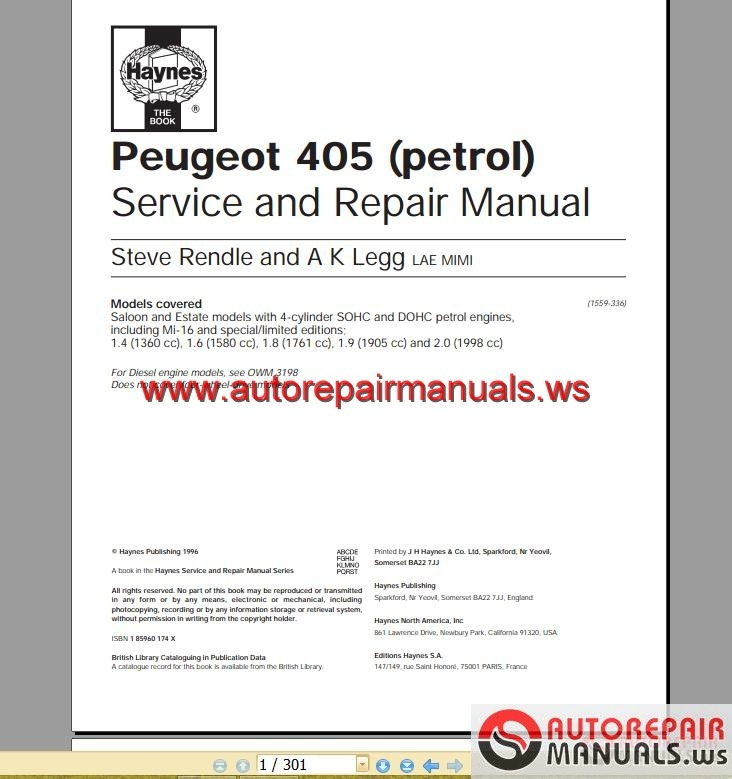 Peugeot service box documentation backup 2015