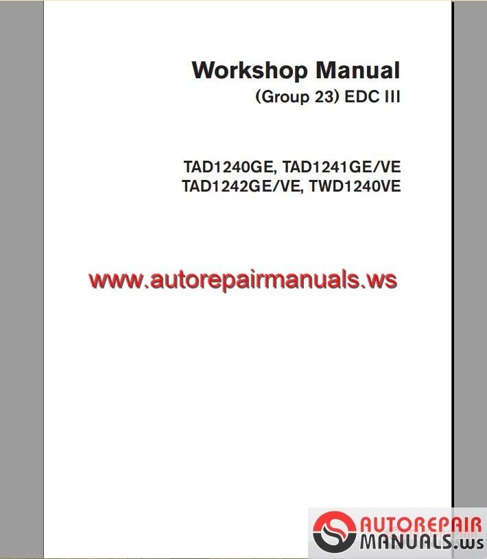 volvo edc iii tad 1241 2 workshop manual auto repair manual volvo edc wiring diagram volvo edc wiring diagram