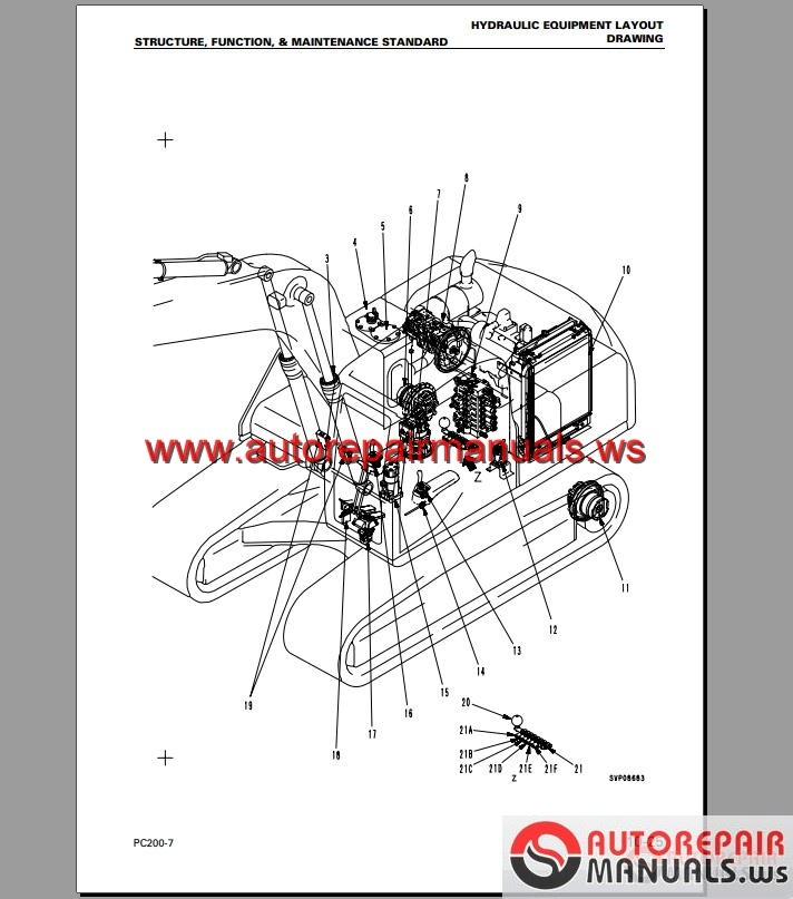 keygen autorepairmanuals ws  shop manual komatsu pc200