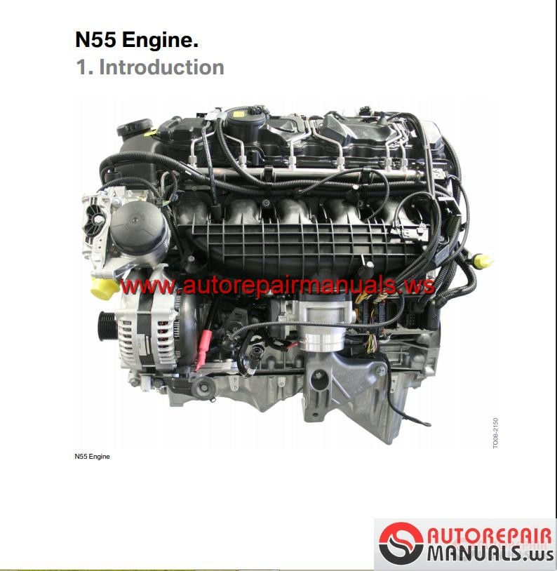 Bmw N55 Engine Technical Training Auto Repair Manual