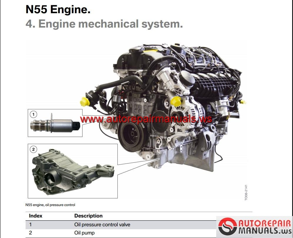 bmw n55 engine technical training auto repair manual. Black Bedroom Furniture Sets. Home Design Ideas