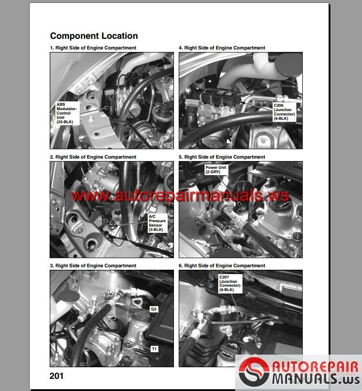 Honda Civic Hybrid Service Manual