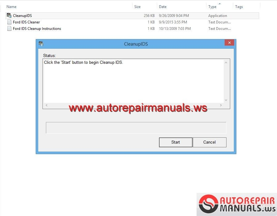 Ford IDS Cleanup Instructions | Auto Repair Manual Forum