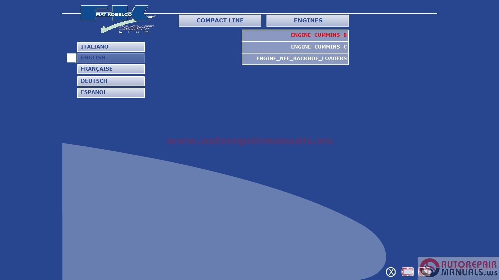 Cd Training Manual Fiat Kobelco Compact Line Engine Auto Repair Loader Wiring Diagram Img