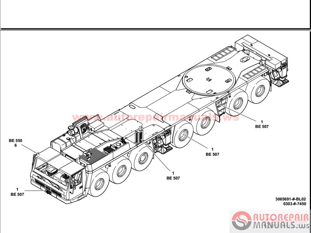 grove crane all service manual