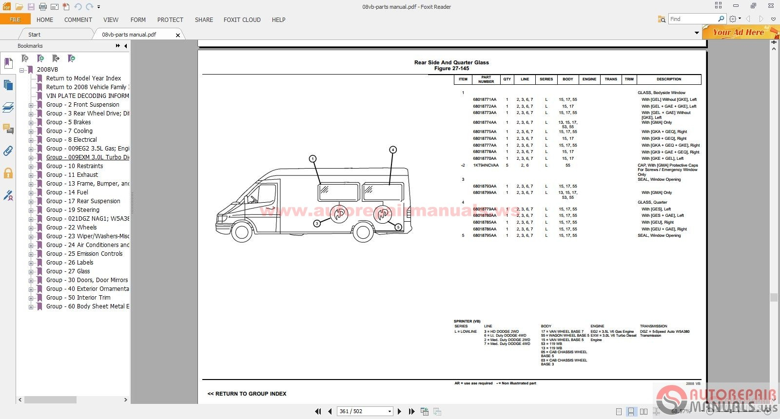 ... 20114 mercedes sprinter service manuals & part manual & operator manual  mercedes sprinter wiring diagram
