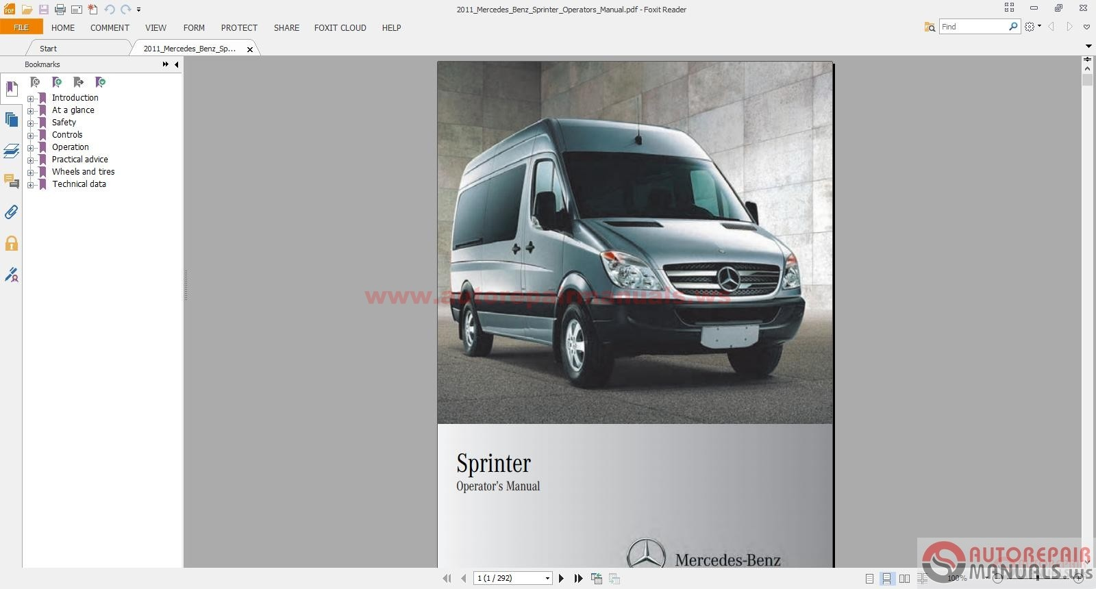 Service manual auto repair manual free download 2011 for Mercedes benz online repair manual