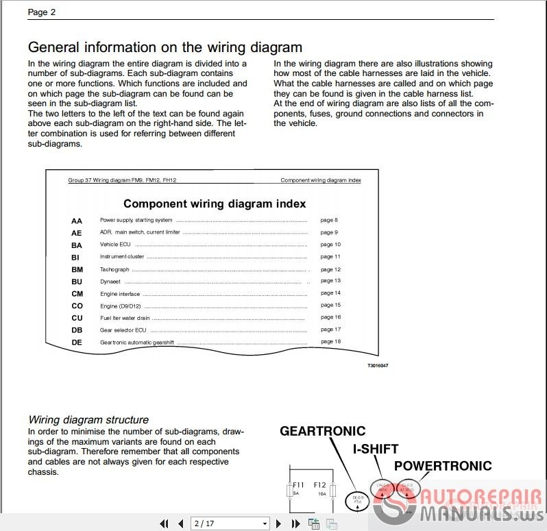 Volvo    Wiring    Diagram    Instructions   Auto Repair Manual