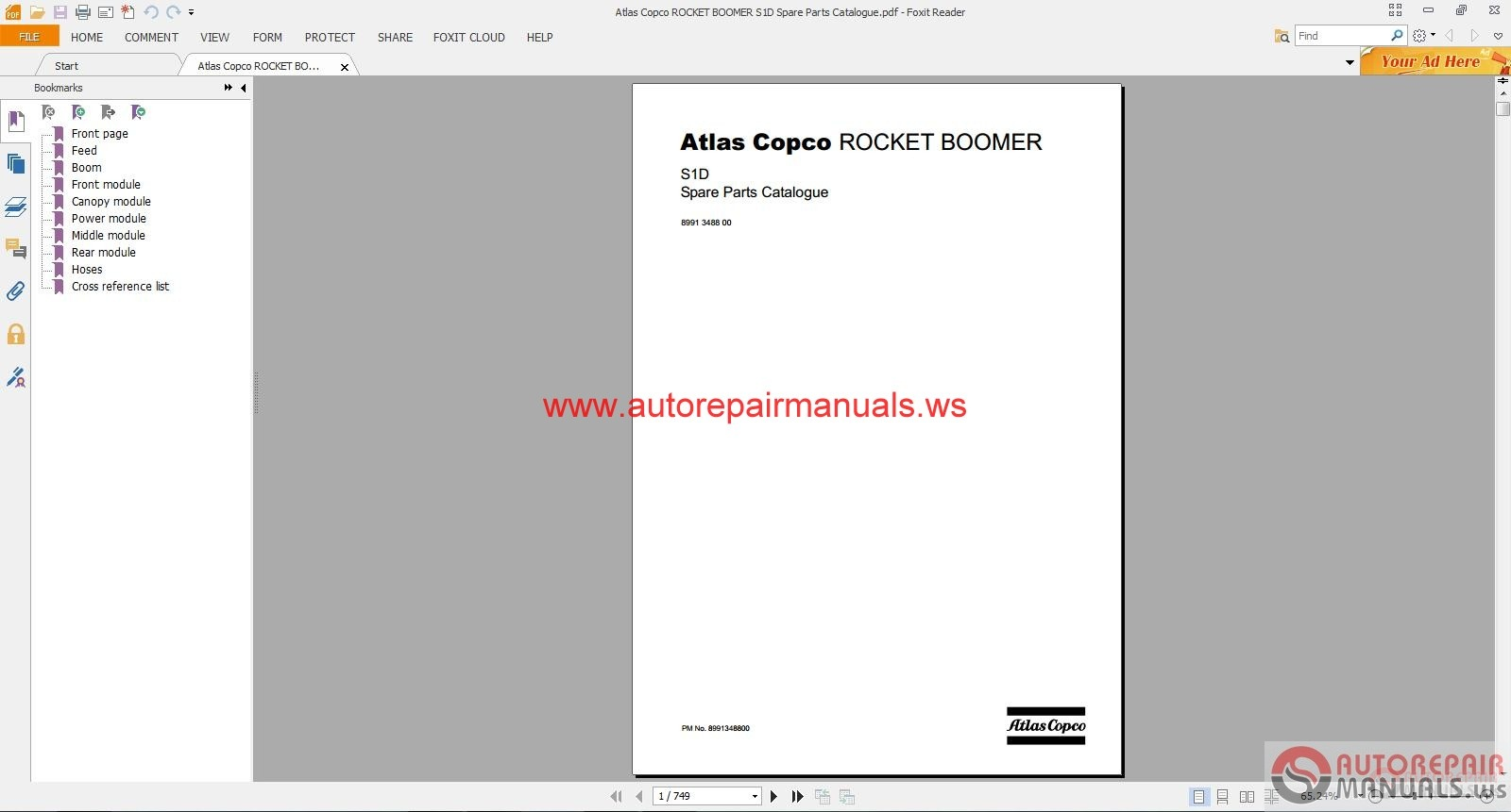 atlas copco rocket boomer s1d spare parts catalogue auto repair atlas copco rocket boomer s1d spare parts catalogue type pdf pages 749 pages language eng size 27 4mb hydraulic schematic electric diagram