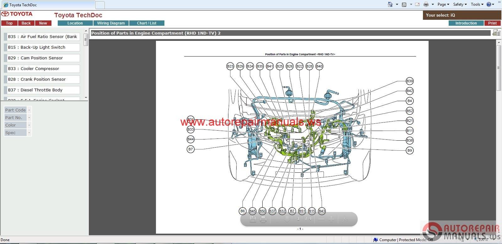 Toyota Iq Wiring Diagram | Wiring Liry on toyota alternator wiring, toyota wiring color codes, toyota flasher relay, toyota ignition diagram, toyota diagrams online, toyota shop manual, toyota cylinder head, toyota maintenance schedule, toyota 22re vacuum line diagram, toyota ecu reset, toyota wiring manual, toyota wiring harness, toyota headlight wiring, toyota electrical diagrams, toyota schematic diagrams, toyota parts diagrams, toyota shock absorber replacement, toyota truck diagrams, toyota cooling system diagram, toyota headlight adjustment,