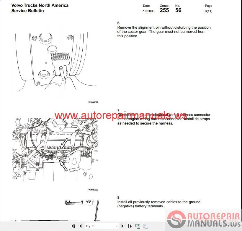 Volvo D11 D13 D16 Service Manual