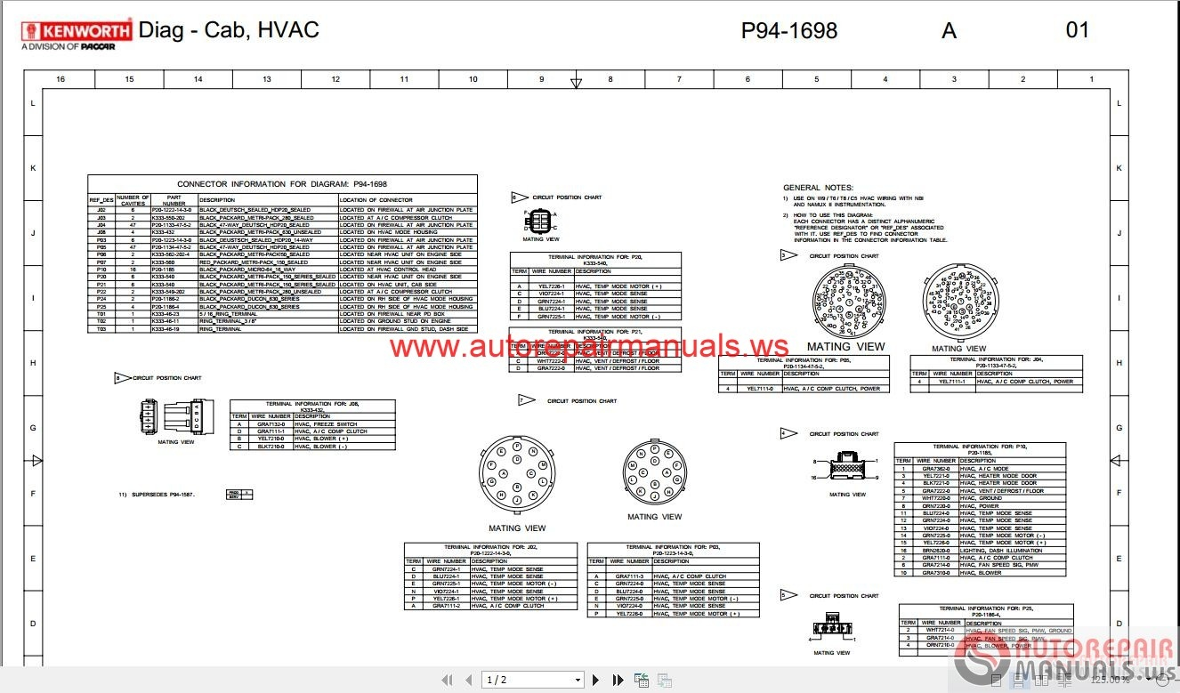 Kenworth_Truck_Service_Manual_Owner_Manual_Diagram_All6 wiring diagrams for kenworth t800 the wiring diagram kenworth t660 wiring diagram at alyssarenee.co