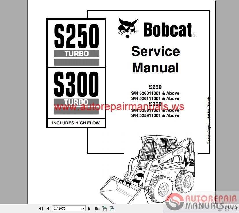 bobcat s150 wiring diagram bobcat image wiring diagram bobcat full set service manual auto repair manual forum heavy on bobcat s150 wiring diagram