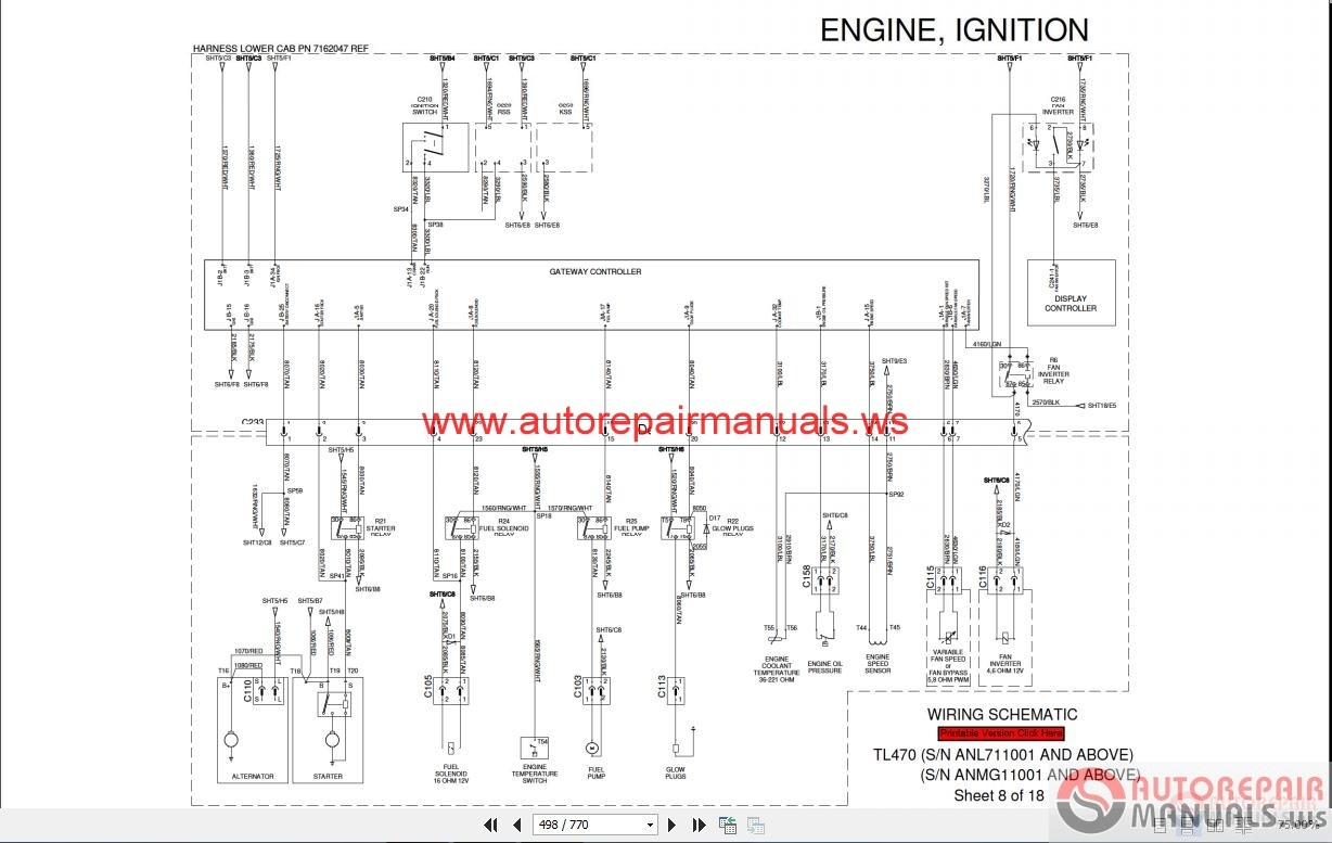 742 Bobcat Wiring Diagram - Get Wiring Diagram