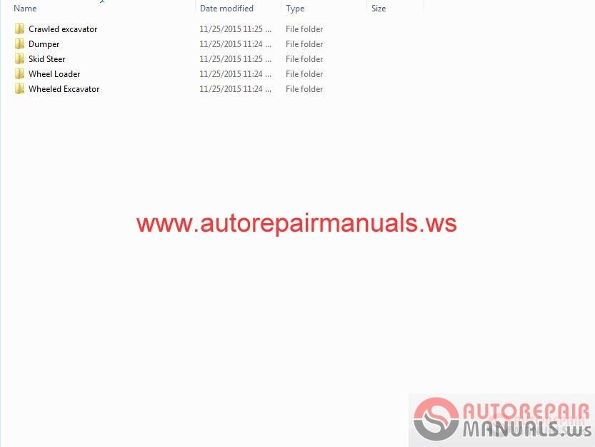 doosan dx210w excavator electrical hydraulic schematics manual instant download