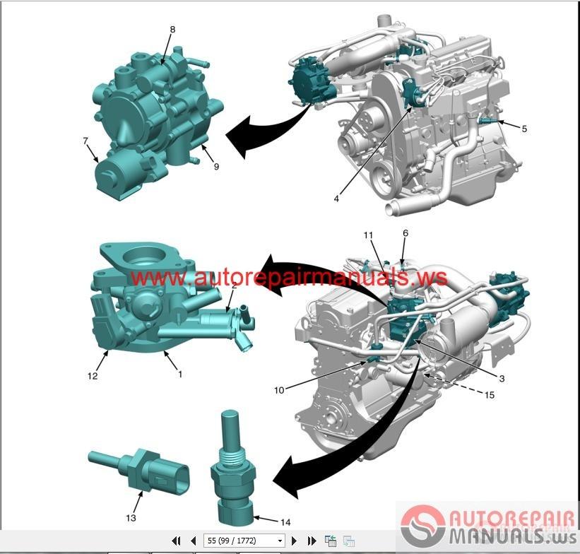 YALE Forklift DIESEL SERVICE MANUAL | Auto Repair Manual