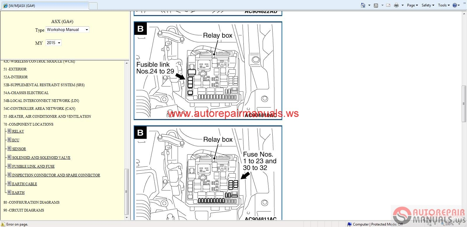 Mitsubishi Pajero Wiring Diagram Download 41 Images 4g92 Asx Eur 2015 Service Manual Cd5 Cd Auto Repair Forum