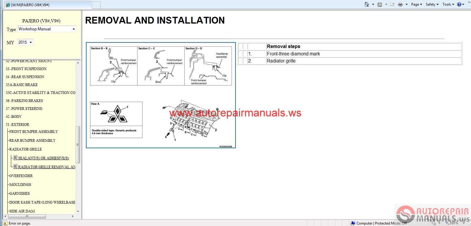 Mitsubishi_Pajero_EUR_2015_Service_Manual_CD3 mitsubishi pajero 2015 service manual cd auto repair manual mitsubishi pajero wiring diagram download at bakdesigns.co