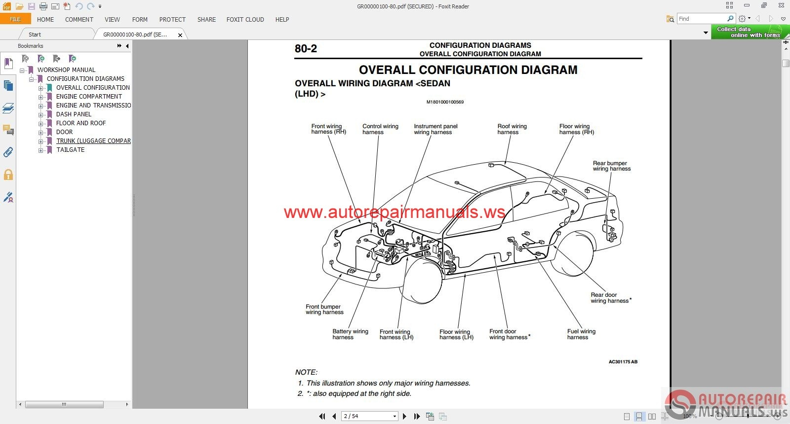 2011 lancer wiring diagram 2011 wiring diagrams mitsubishi lancer ix 2004 wiring diagrams auto repair manual