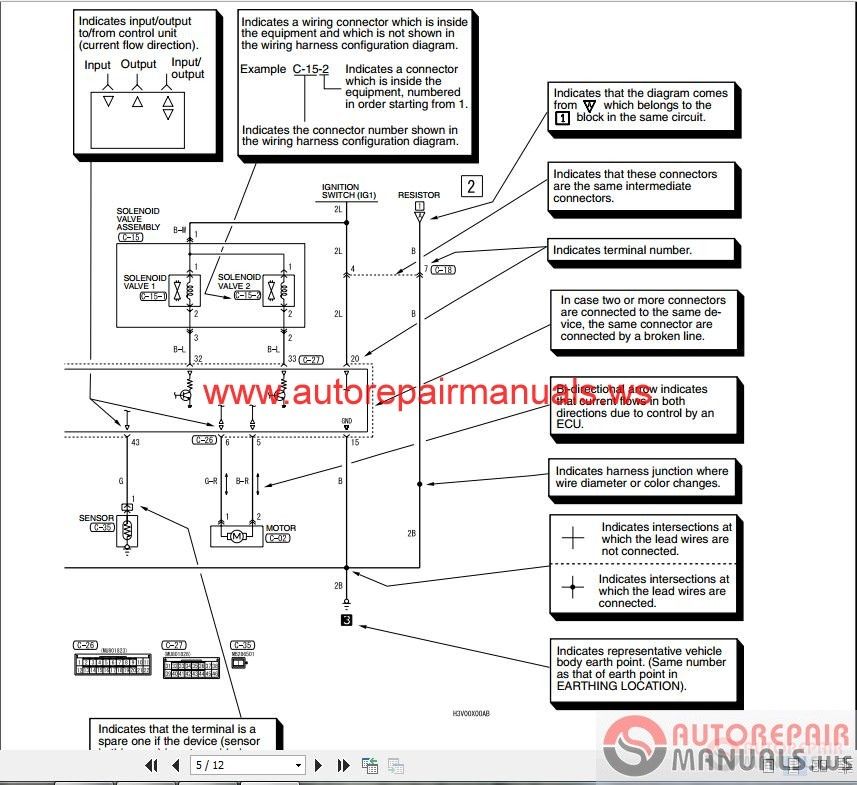 Wiring Diagram For A 2004 Mitsubishi Endeavor wiring diagrams