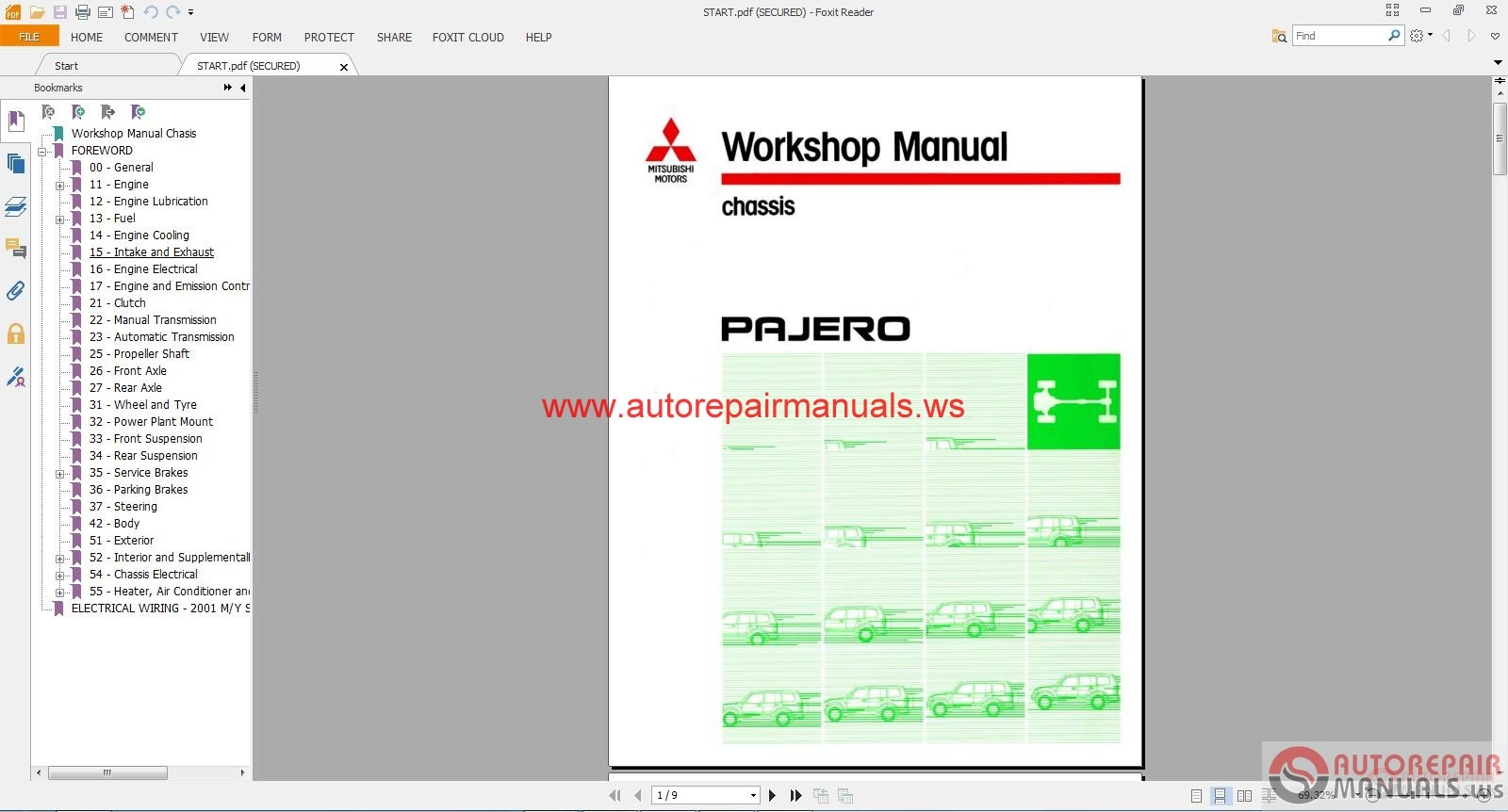 Mitsubishi_PAJERO_1991 2003_ENG3 mitsubishi pajero 1991 2003 eng auto repair manual forum heavy mitsubishi pajero wiring diagram download at bakdesigns.co