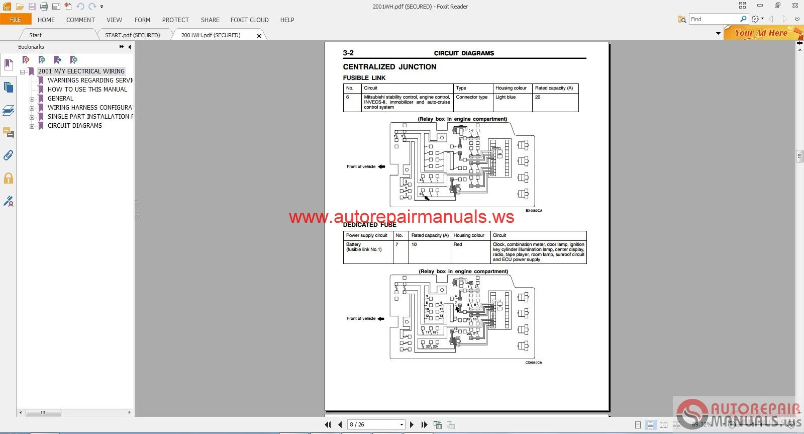 DIAGRAM] Mitsubishi Pajero 2003 Wiring Diagram FULL Version HD Quality Wiring  Diagram - GOOSENECKWIRINGDIAGRAM.TRIESTELIVE.ITWiring And Fuse Image
