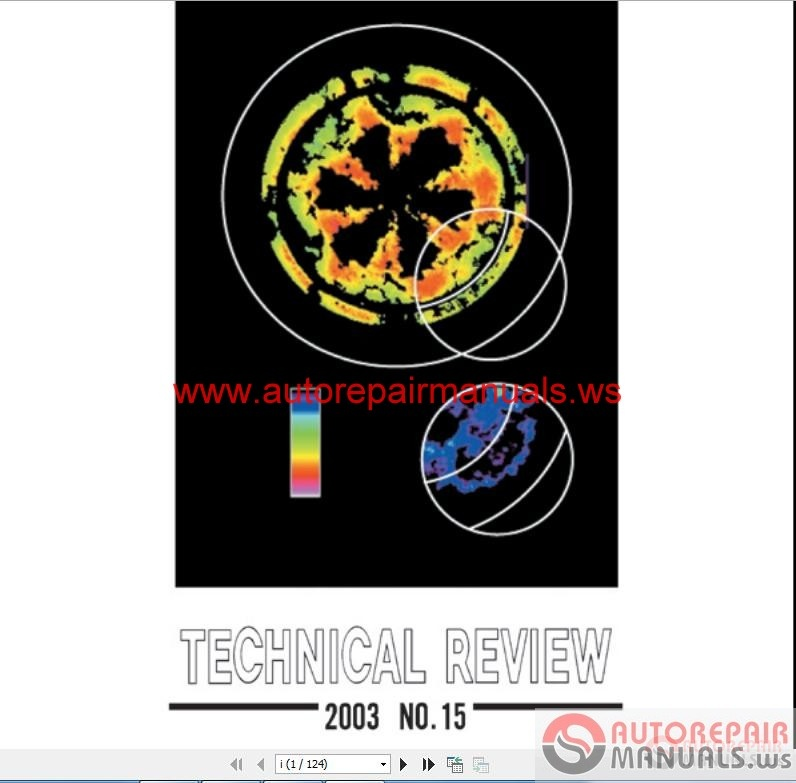 Mitsubishi Technical Review 2003