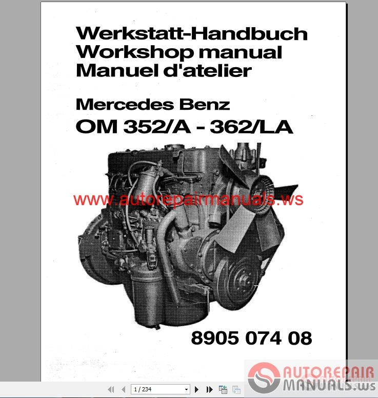 Mercedes Benz 300 400 Series Engine Service Manual Auto