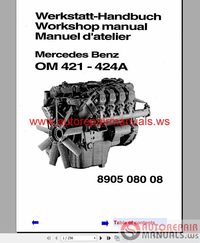 mercedes benz instruction manual