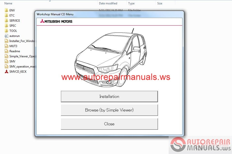 Mitsubishi Colt 2009 Service Manual Auto Repair Manual