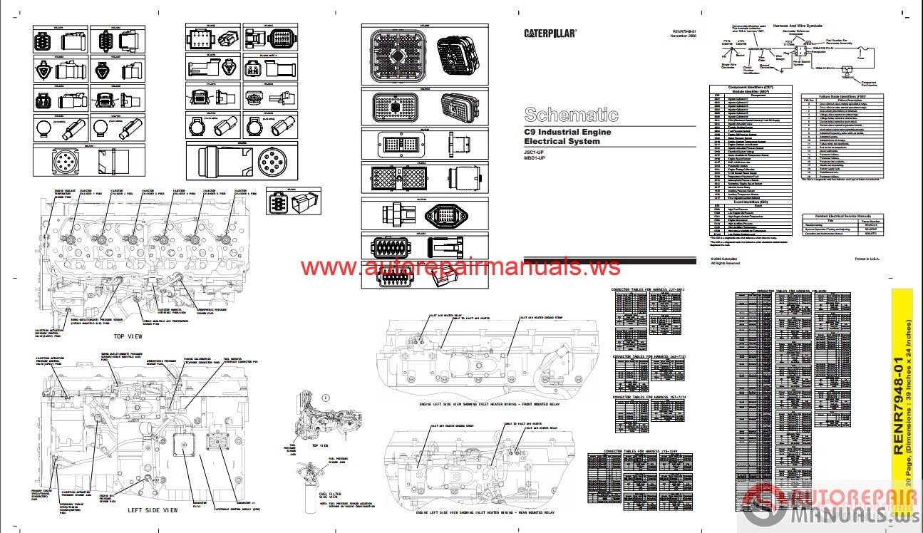 cat c9 engine wiring diagram
