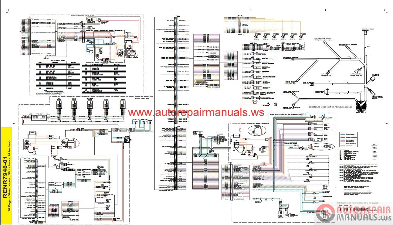 Cat 3406e Fuel System Diagrams Pdf Guide And Troubleshooting Of Wiring Diagram 3126 Schematic Schemes Manifold