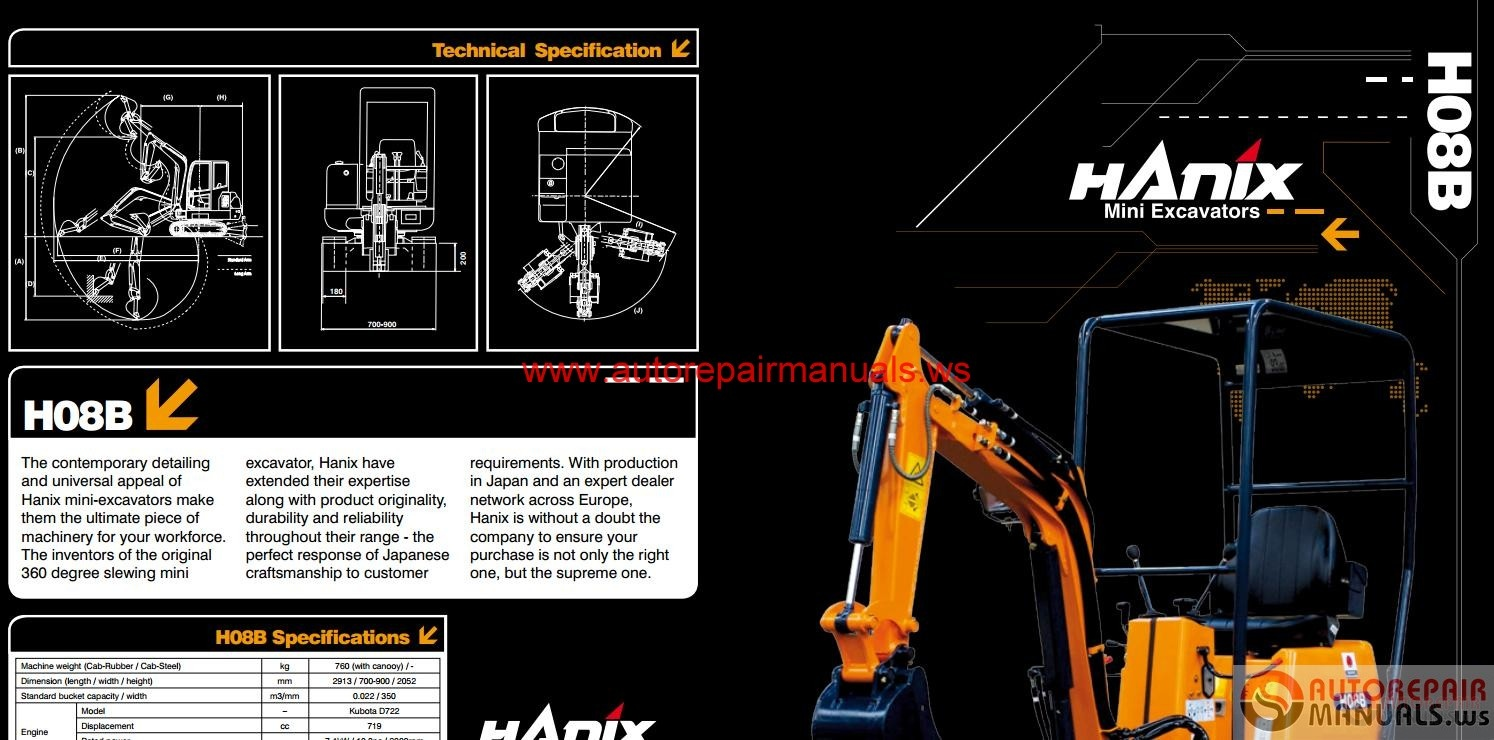 ... Array - hanix h08b parts manual rh hanix h08b parts manual diestetic com