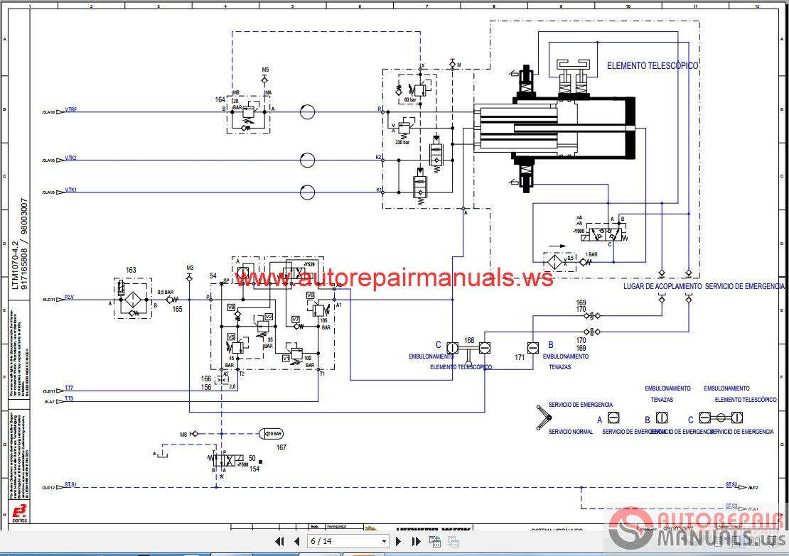 liebherr crane ltm 1070-4.2 hydraulic schematic esp   auto ... crane schematics #8