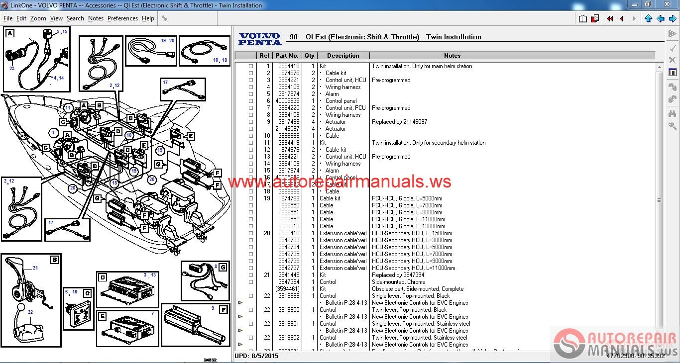 VOLVO_Penta_EPC_II_012016_Instruction2 volvo penta epc ii 01 2016 instruction auto repair manual volvo penta 5.7 gi wiring harness at bakdesigns.co