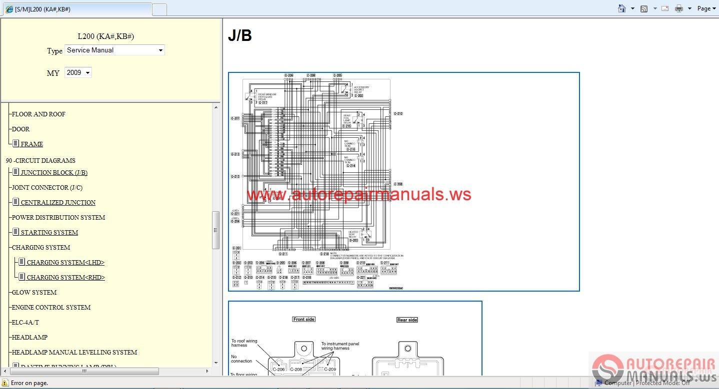 mitsubishi lancer eur 2009 service manual auto repair. Black Bedroom Furniture Sets. Home Design Ideas