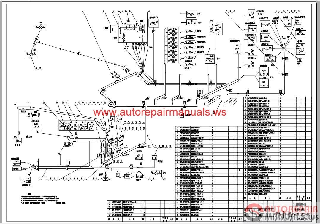 sany sy200c1-electrical schematics