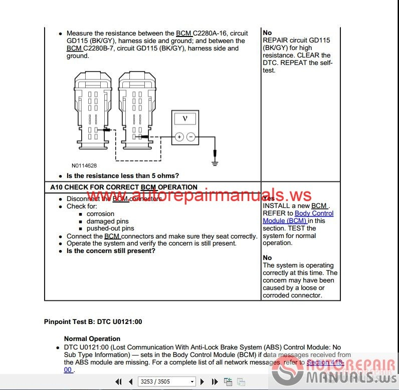 ford fiesta 2011 workshop manual & wiring diagrams