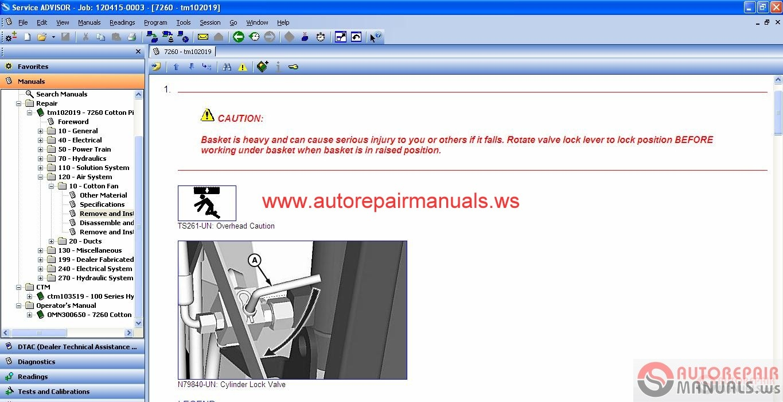john deere service advisor cf 08 2015 auto repair manual forum heavy equipment forums Volvo Car Manuals Volvo Schematics
