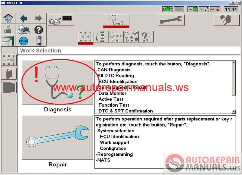 Nissan Consult-III Plus v52.11 [01.2016] | Auto Repair ...