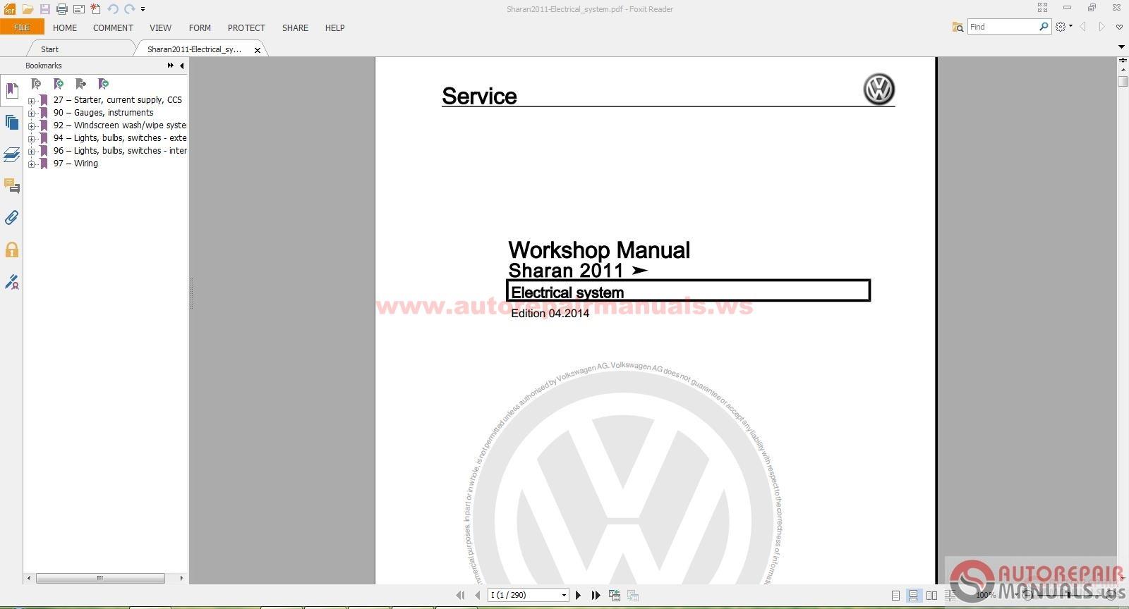 volkswagen sharan 2011 2016 workshop manual auto repair manual rh autorepairmanuals ws volkswagen sharan service manual volkswagen sharan service manual pdf