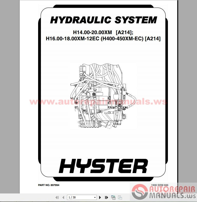 Hyster Forklift Parts And Service Manual Cd furthermore Hyster He Ye Forklift Factory Service Manual Js Hy S Ue Plust further H Reach Pi additionally Hyster Class Electric Motor Rider Trucks Repair Manuals Html Pdf furthermore Hyster Class. on hyster forklift service manuals