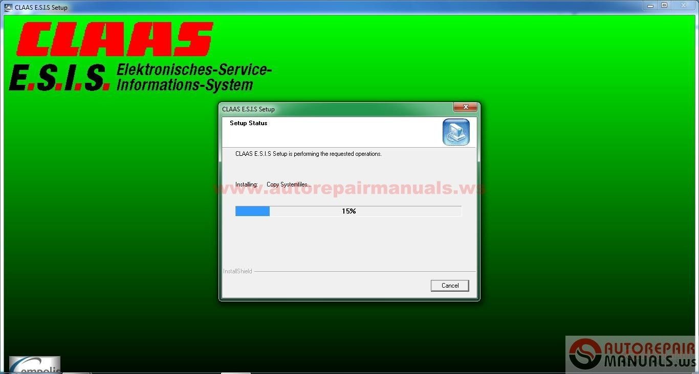 Claas E S I S Version 2 5 2008 Electronic Parts