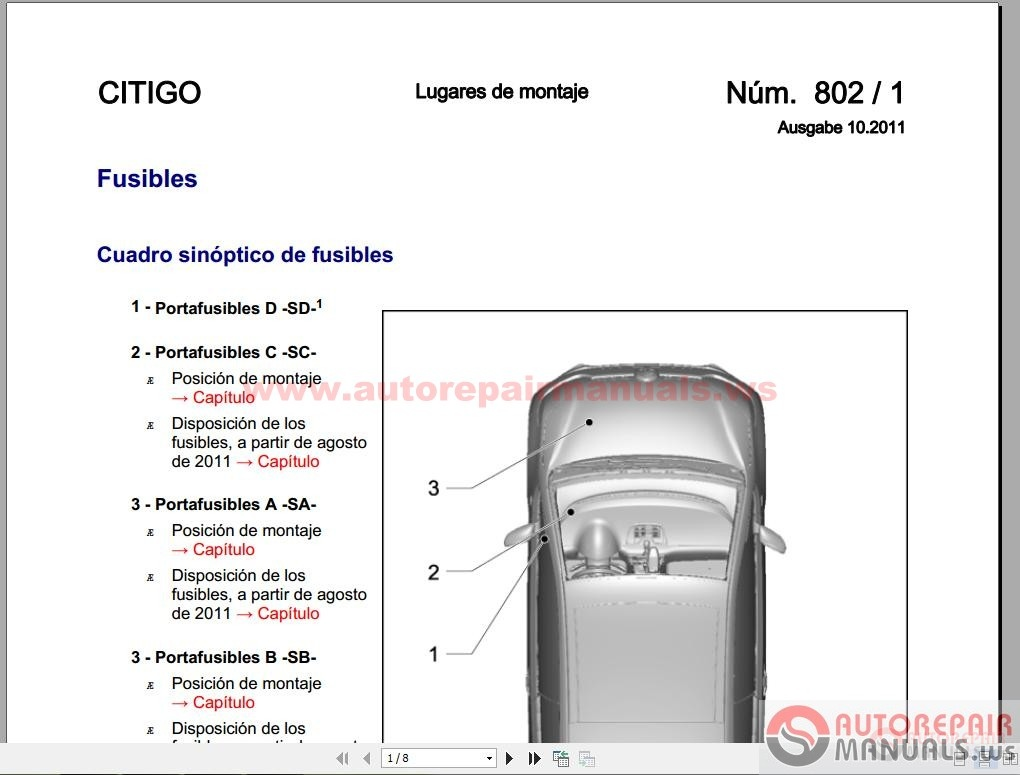 Skoda Citigo Service Manual