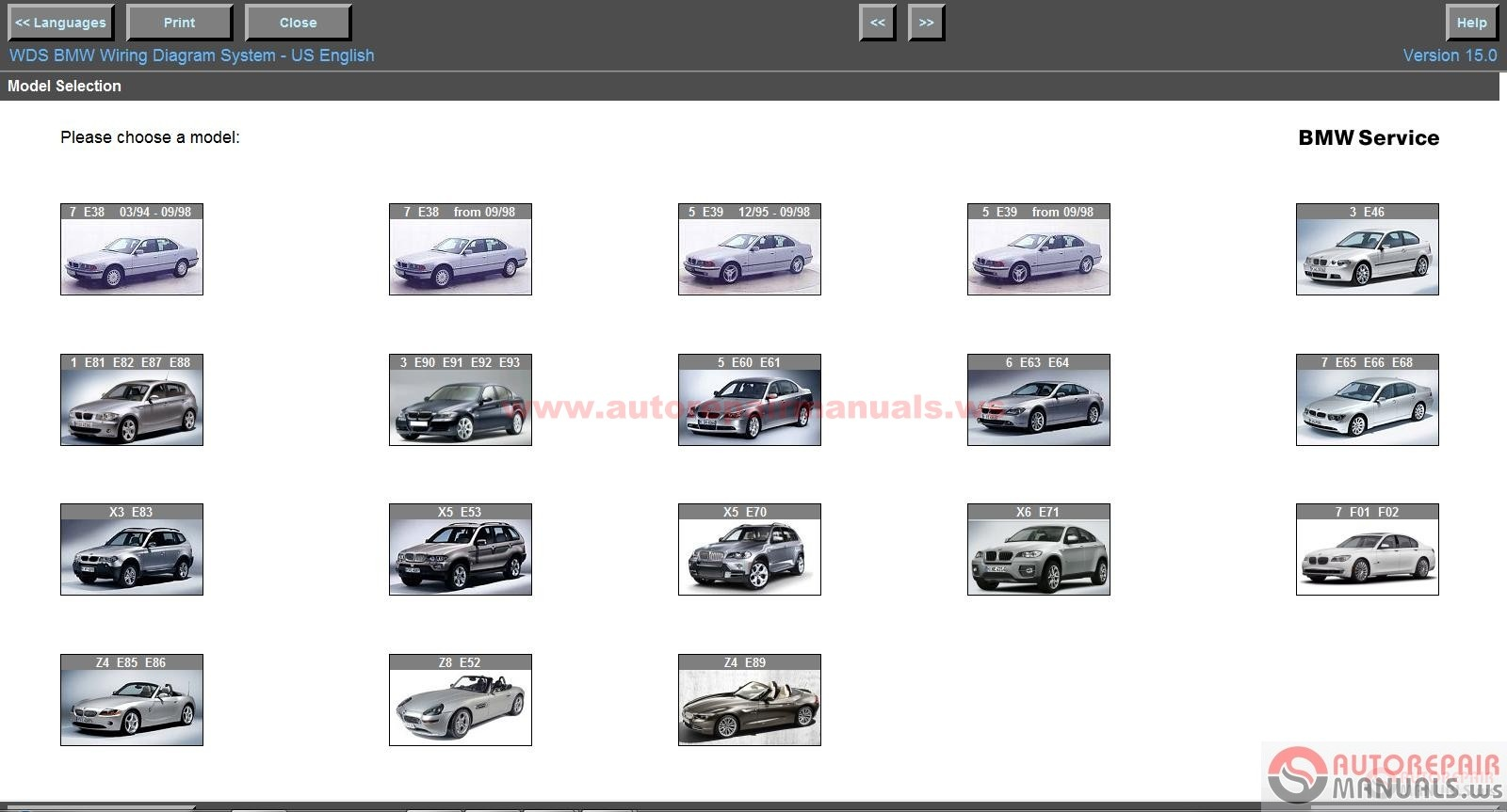 Wds Bmw Wiring Diagram System Download 38 Images Free V15 And Mini V7 System3 Auto Repair Click Here