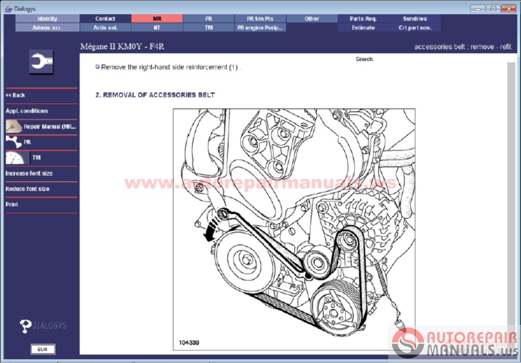 Renault Dialogys 4 47 Fr  2016  Full