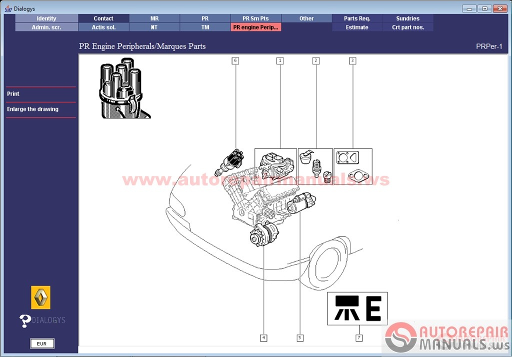 Renault Dialogys 447 FR     2016     Full   Auto Repair Manual